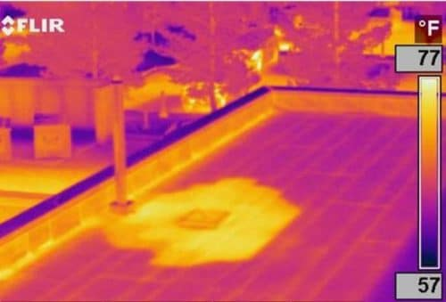 Infrared Inspections Electrical Flat Roof Moisture Energy