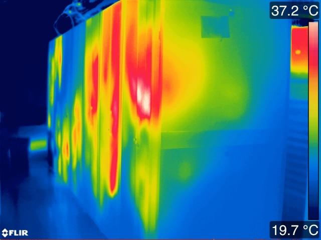 Data Center Thermal Mapping | Infrared and Thermal Technology ... on
